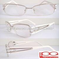 Women's metal optical eyeglass with rhinestone womewn's eyewear frames