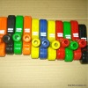 Coloured rubber golf putter children playing