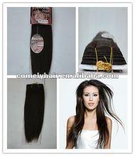 Wholesale Price 100% Remy Human Hair Yaki Weaving10''