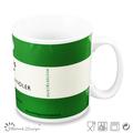 yeni kemik çini kahve fincanı papatya tasarım bone china kupa çıkartma