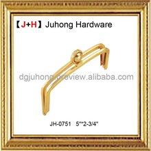 2013 Hot selling silver bag frame/fashion clutch purse bag frame