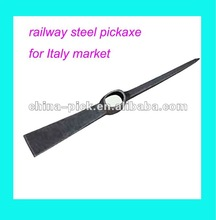railway steel pick,pickaxe for Italy market