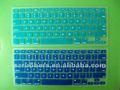 Durável silicone teclado de computador a película protetora