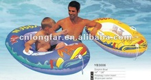factory hot sell pvc inflatable baby seat floating boat