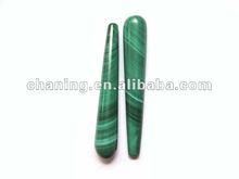 High quality A grade natural malachite teardrop beads
