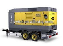 Atlas Copco Portable Diesel Screw Air Compressor Used for Sale