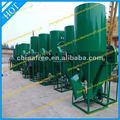 750-2000kg/h raçãoparaanimais moinho misturador com estrutura compacta