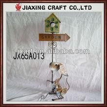 Metal Craft dog Metal Crafts Garden decoration