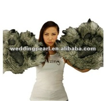 2012 hot selling cheapest new design fur scarf with glove