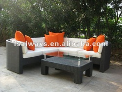 new design garden outdoor rattan/wicker furniture 2013 AWS00150