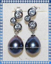 Fashion Design Peacock Pearl Jhumka Earrings CER062