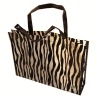 2013 the lastest fashion non woven lamination bag with Zebra Stripe