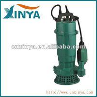 XINYA 1.5hp electric single-phase mine sewage drainage irrigation water pump (QDX25-9-1.1)