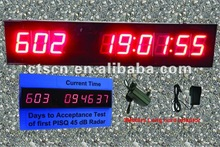 Supply 1.8inch by 9 Digits days&hours&mins&secs LED Countdown Clock
