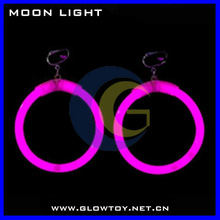 2012 hot sale glow earring for party decoration