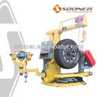 tire recapping equipment buffing machine