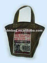 new products for 2014 canvas shopping bag