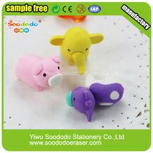 animal series shaped eraser