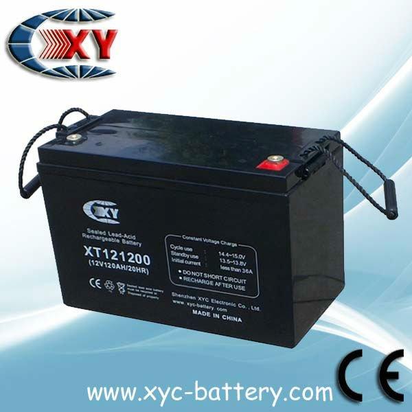 12V120AH dry battery for UPS