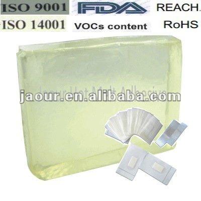 hot melt glue(block shape) for skin