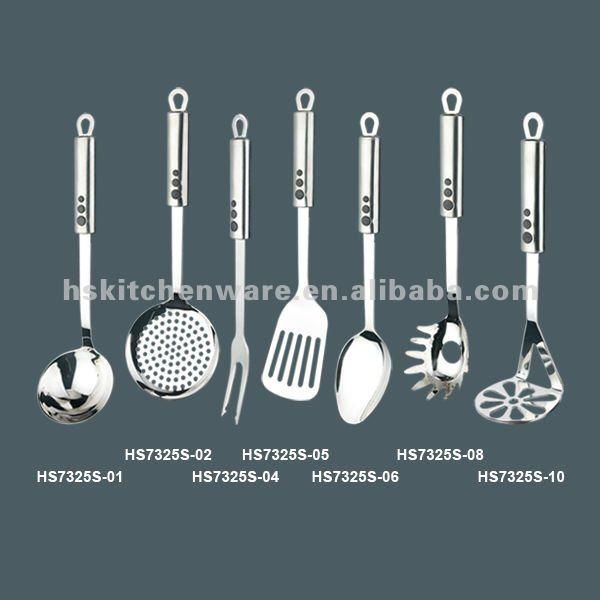 Restaurante utensilios de cocina hs7325s identificaci n for Kitchen utensils in spanish