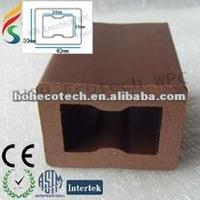 WPC hollow joist for decking floor/terrace floor/synthetic floor