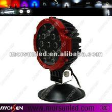 High Lumen 12V&24V DC 51W auto LED work light, IP67 waterproof spot & flood LED head lamp for car (MS-2265)