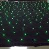 Rgb Led Star Curtain 4*6m / Stage decoration / backdrop / 7 colors / 33Effects / DMX & Sound active colors