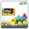 4 Channel cartoon RC truck, light music radio control truck toys
