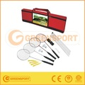 De plástico gsrb1 raqueta de bádminton/raqueta conjunto