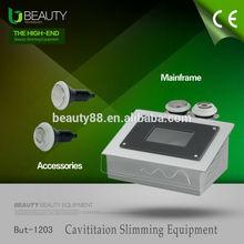 2014 Potable fat cavititaion slim shape equipment