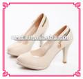 las señoras de la moda del alto talón zapatos de vestir
