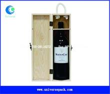 Europe type Red wine Wooden box custom