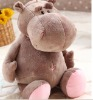 giant moshi hippo plush stuffed toys lifelike animal plush toy& baby plush toy