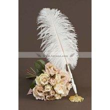 BP-09 Ostrich wedding feather pen