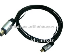 3D OD=3.2MM HDMI CABLE with ethernet Support 1080P HDMI Cable