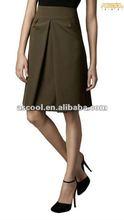 New style Elegant high-waisted Women's A-line skirt