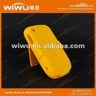 Flexible plastic cell phone case for Blackberry 8520-9300