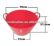 new plastic bucket,flexible plastic pail
