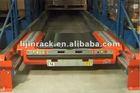 Glide stock pallet racking