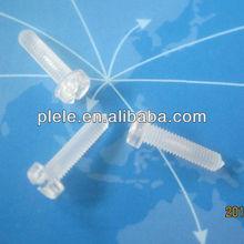 Plastic screw fastener M3 M4 (PC/Nylon)