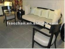 stylish and distinctive design AZ-S-343 solid wood sofa set