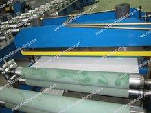 Aluminium panneau de toit rouleau formant la machine, Aluminium Machine de laminage, Tôle d'acier pain formant la Machine
