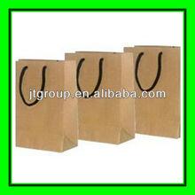custom design brown kraft paper shopping Grocery Paper bags