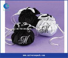 Custom wholesale satin lingerie bag