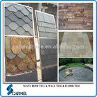Chinese popular roofing slate & floor slate & exterior wall cladding slate tile