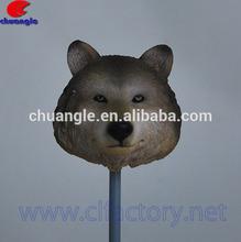 Custom Cartoon Animal Head Figure, Cute Animal Figurine Toy