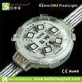 интеллектуального rgb пиксел светодиодная матрица 42mm 6 светодиодов dc24v подходит для развлечений и архитектурное освещение украшения