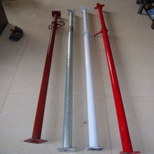 ADJUSTABLE STEEL SHORING PROPS IN HEAVY DUTY AND LIGHT DUTY TYPE
