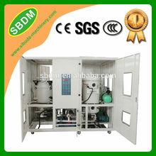 KXZ Double-Stage Vacuum Waste Oil Purification Machine Essential Oil Distillation Equipment